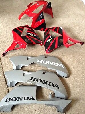Honda CBR 600 RR Front Fairing Panels  Top Sides Lowers. Genuine 2003 - 2004