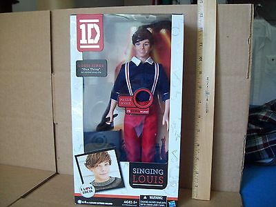 One Direction Singing Louis Doll New