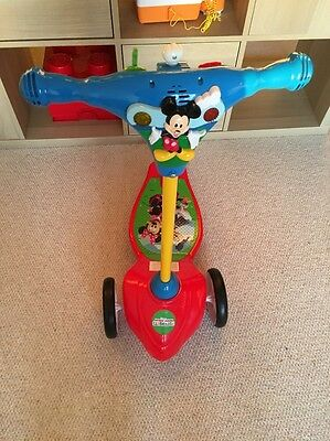 Mickey Clubhouse scooter