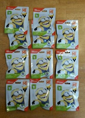MEGA BLOKS Despicable Me Minion Series 9  LOT OF 11 Sealed IN HAND