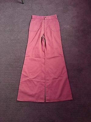 Rare Vintage Flares Pink Levi Trousers Size 8-10