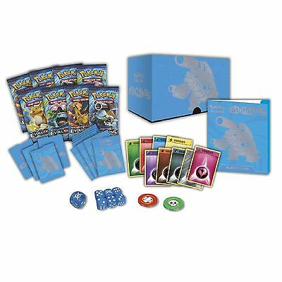 Pokemon Cards XY-12 Evolutions Mega Blastoise Elite Trainer Box - Booster Packs