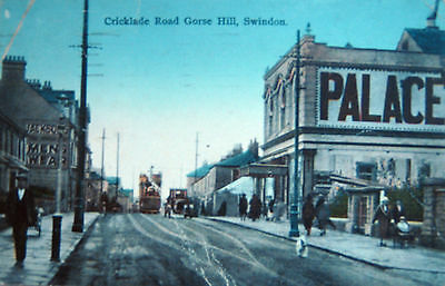 Nice Old Postcard - Palace Cinema Cricklade Road,gorse Hill ,swindon ,wiltshire