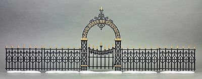 Dept 56 Heritage Village Collection ~ Victorian Wrought Iron Fence & Gate 52523