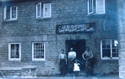 Nice Old Real Photo  Postcard - J.b.brinds, Shoeing Forge,swindon ,wiltshire