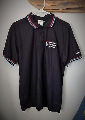 Official CRAFT RadioShack Nissan Trek Cycling Team Polo, Large, NEW!