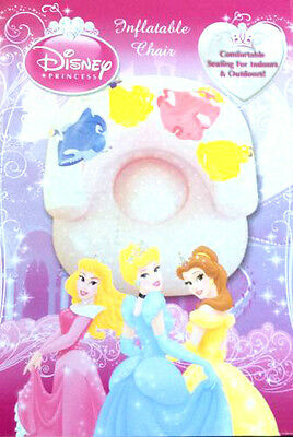 New Disney Princess Wishes Inflatable Chair Furniture Sofa Kids Free P&p