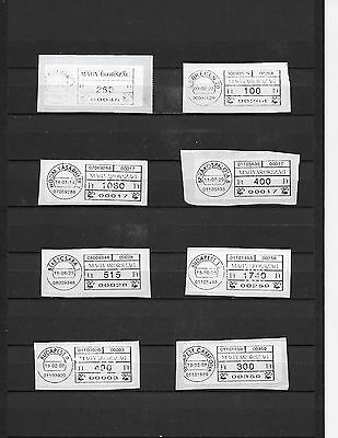 Hungary 10 Postage Labels.