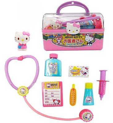 Sanrio Hello Kitty Doctor set with Case Play Set Role Play Pretend Play Toys