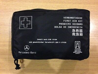 New Genuine Mercedes Benz First Aid Kit A1698600150 Emergency Safety Road Packet