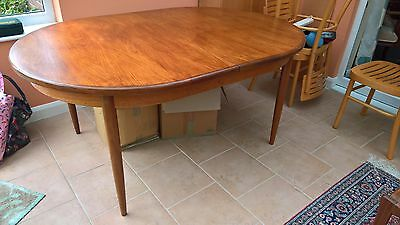 G-Plan Extendable Dining Table and 6 Chairs