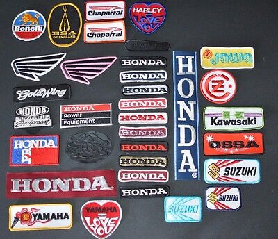 Motorcycle Authentic Vintage Embroidered Clothing Patches for Biker Vest Jacket
