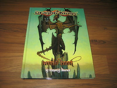 Dragon Kings World Book Hardcover Campaign Setting Soldier-Spy New Neu Dark Sun