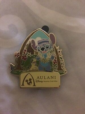 Disney Vacation Club Member 2016 Limited Release Aulani Villas Pin Stitch