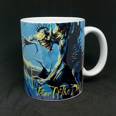 tazza mug music IRON MAIDEN fear of the dark rock metal scodella ceramica