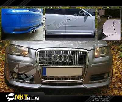 Audi A3 8P Sportback 5 door [ 2005 - 2008 ] - Full body kit ver. 1