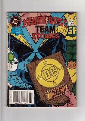 Best of DC Comic Years Best Team Stories Blue Ribbon Digest 1986