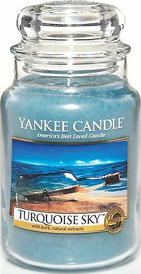 Yankee Candle Large Jar Candle, Turquoise Sky-NEW-