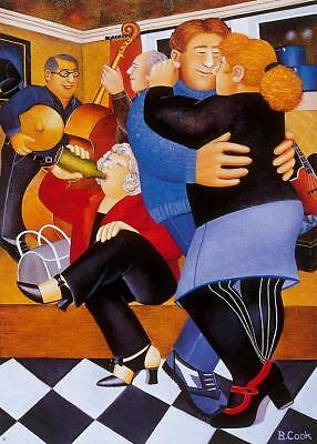 """Beryl Cook,Signed Limited Edition Print,""""Shall we Dance"""""""
