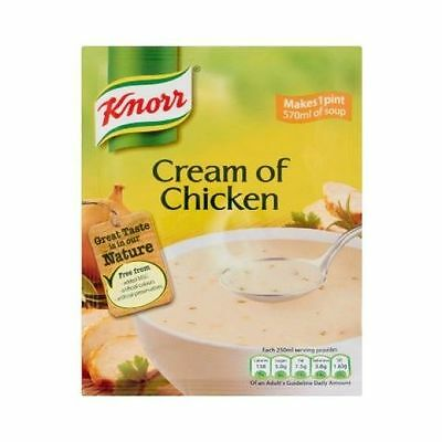 Knorr Soup Cream Of Chicken x 14