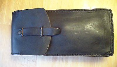 Vintage Leather Mag Pouch for Magazines, Pistol, Phone, Motorcycle, Harley