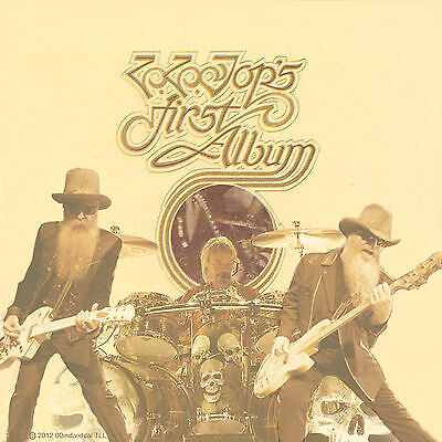 ZZ TOP - FIRST ALBUM Album Cover POSTER 12x12