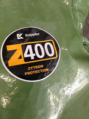 Kappler Z400 Chemical Suit Coverall