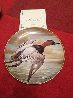 Franklin Mint - Water Birds Of The World -Canvasback