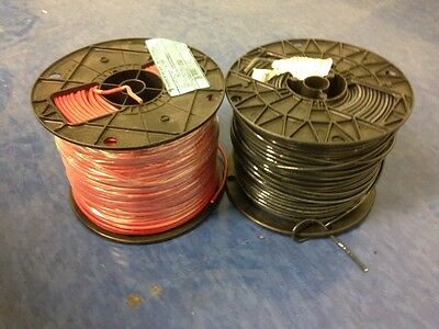 2 Rolls 500Ft  12AWG  Stranded Electrical wire 1-Red & 1-Black (1000 ft Total)
