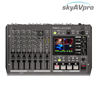 Roland VR-3EX SD/HD Audio/Video Mixer with USB Streaming