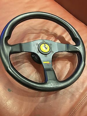 Ferrari Momo  Corse Steering Wheel  And Boss