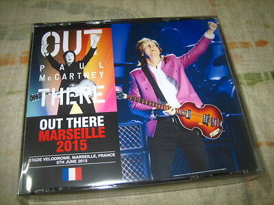 PAUL McCARTNEY OUT THERE MARSEILLE 2015 3CD Live Promo