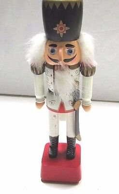 "1991 SCHMID Toyland Musical 12"" Hand Painted Nutcracker Christmas Decor"