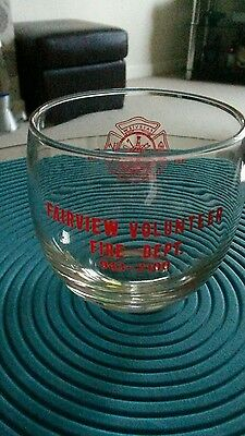 Fairview Volunteer Fire Department Glass