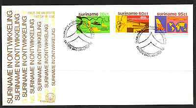 Suriname 1978 Fdc – Development #a0351
