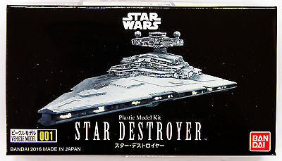 Bandai Star Wars Vehicle Model 001 Star Destroyer non scale kit 048848