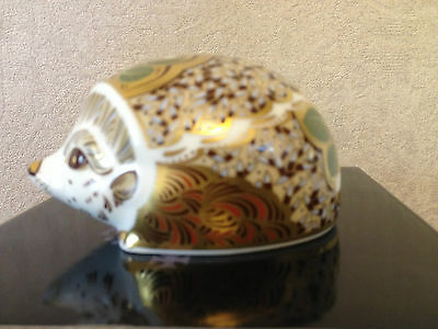 Royal Crown Derby Snowberry Hedgehog Paperweight Mmxvi - New & Boxed