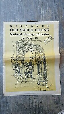 Discover Old Mauch Chunk, National Heritage Corridor, Jim Thorpe, PA. 1994