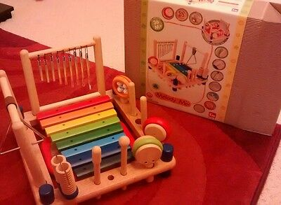 childrens wooden musical centre