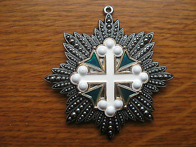 The Star Of The Order Of Saint Mauritius And Lazarus Italy  Copy Moulage