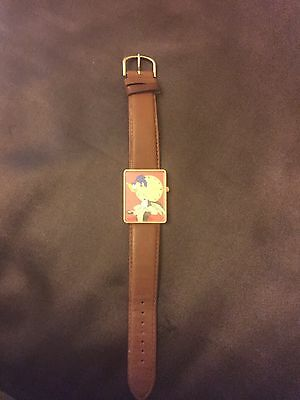 Rare Limited edition Looney Tunes Armitron Wile E. Coyote and Road Runner watch