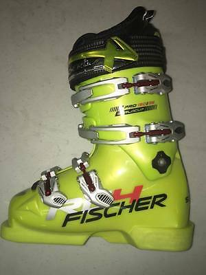Fischer RC4 Pro 150 WC Ski Boots 23.5 Yellow