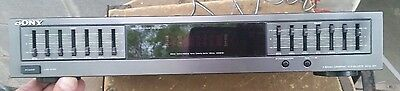 Sony SEQ-421 7 Band Graphic Equalizer Works.