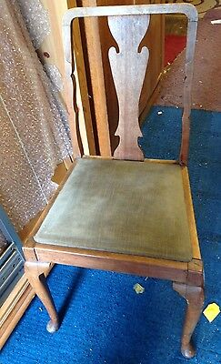 old vintage dining chair