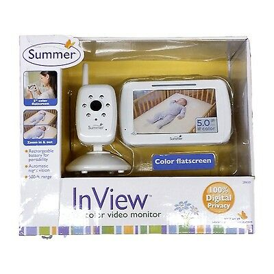Summer Infant 28650 In View Digital Color Video Baby Monitor