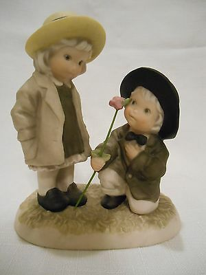 Pretty As A Picture - Be My One And Only Ceramic Figurine - Enesco