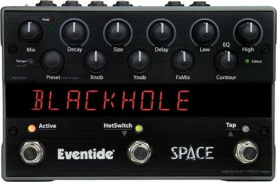 Eventide Space Reverb & Beyond Stompbox, Guitar Multi-Effects Pedal NEW!! #38169