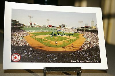 BOBBY DOERR signed FENWAY postcard Boston Red Sox  100% authentic GUARANTEED