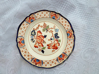 """Stanley"" Woods Ware, Wood & Sons England W420 - colourful Imari Colours (614)"