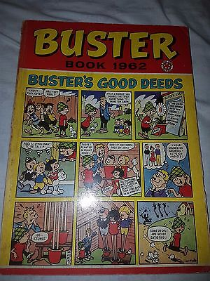 BUSTER ANNUAL 1962 from Buster Comic - first one very rare christmas